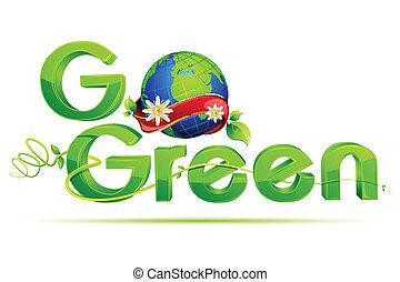 가다, 녹색