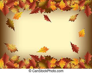 가을의 잎, 구조