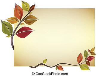 가을, 카드