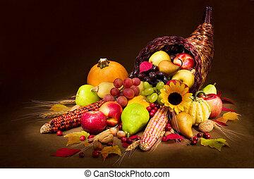 가을, 풍요의 뿔
