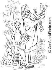 개설되는, 예수, 아이들