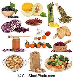 건강에 좋은 음식, 견본 검사인