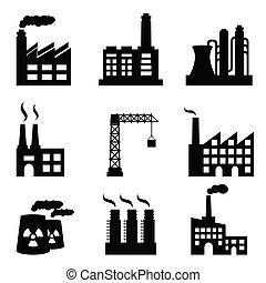 건물, 산업의