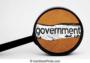 검색, 정부