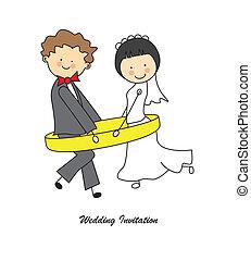 결혼식 안내장