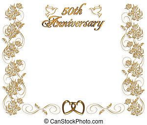 결혼식, 50th, 기념일