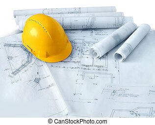 경질인, 건축 모자, 계획