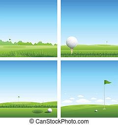 골프, 배경