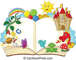 공상, 만화, 책