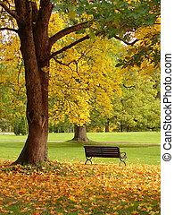 공원 도시, 가을