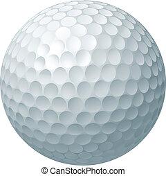 공, 골프, 삽화