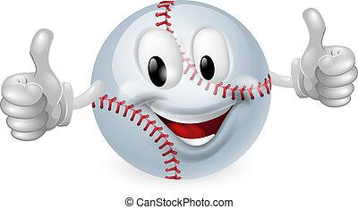 공, 야구, 마스코트