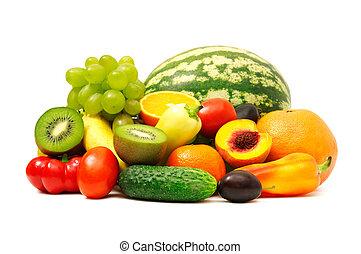 과일, 야채