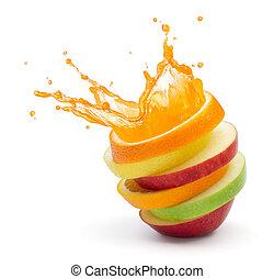 과일, 펀치