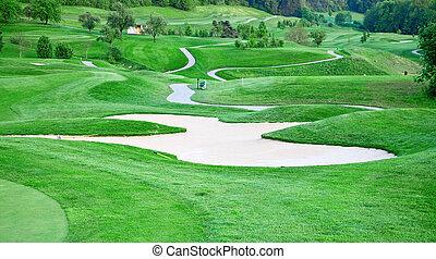 과정, 골프