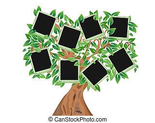 구조, 나무, 너의, 녹색, 사진