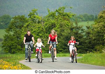 구, bicycles, 가족