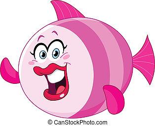 귀여운, fish