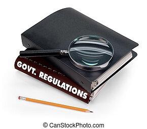 규칙, 정부
