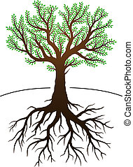 그것이 있다, 나무, 뿌리