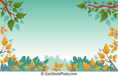 그린 파크, 나무.