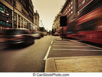 그림, 놀랄 만한, 교통, 선물, 도시의