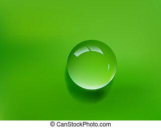 근해 하락, 녹색