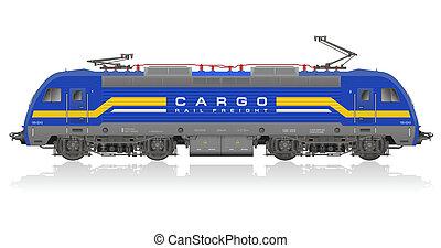 기관차, 전기의 푸른색