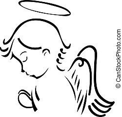 기도하는 것, 천사