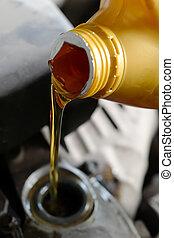 기름, 모터
