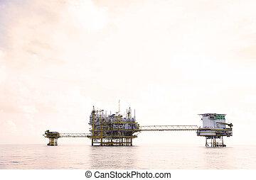 기름, 해석, room., 매뉴얼, industry., 경질인, 난바다에, 자동차, 통제, 기능, gas., 산업, 일, 생산 플랫폼, 가동, 가스, 과정