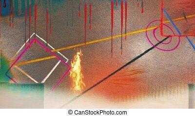 기하학이다, 현대 예술, abstract.