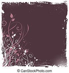 꽃의, grunge
