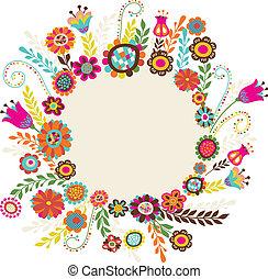 꽃, 인사장