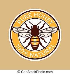 꿀벌, 학문 따위 순수한, 상표, 꿀