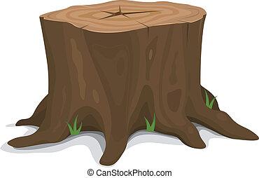 나무 그루터기