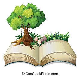 나무, 책, 열려라