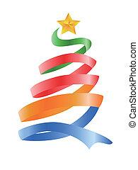 나무, 크리스마스, 행복하다