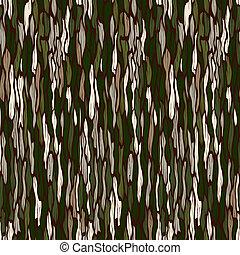나무, seamless, 배경., 벡터, 짖는 소리, texture.
