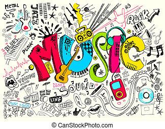 낙서, 음악