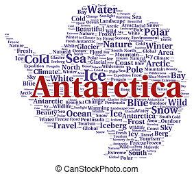 남극 대륙, 낱말, 모양, 구름