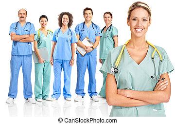 내과의, 의사
