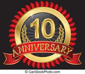 년, 10, 황금, 기념일