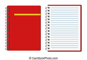 노트북, 빨강