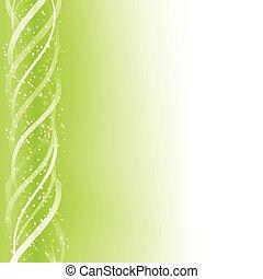 녹색, 백열하는 것, 은 일렬로 세운다, 다채로운, 배경.