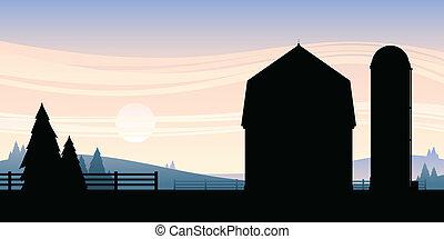 농장, 만화