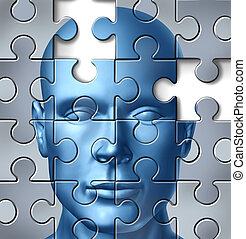 뇌, 내과의, 인간, 연구
