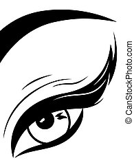 눈꺼풀, 상세한 묘사, 눈, 푹신한
