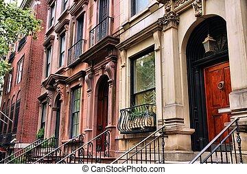 뉴욕, townhouse