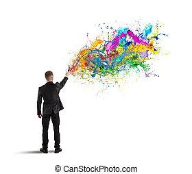 다채로운, 사업, 창조